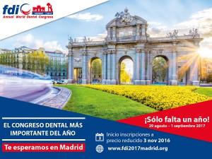 Congreso dental FDI 2017 (Madrid)