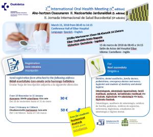 [:es]II Jornada Internacional de Salud Bucodental[:] @ Salón de Actos del Hospital de Eibar